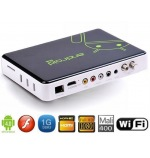 TV Box DVB-S2 Android 4.0 HDMI 1G 4G con mando a distancia