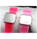 Led Watch with Silicone Bracelet FR