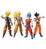 Figuras Dragon Ball Super,Goku,Saiyan,Vegeta,Gohan,Trunks,Vegetto,Friser,Superguerrero,pelo azul,rosa,Bola de Dragon,Gokou