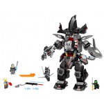 Garmabot Ultra, Robot de Garmadon, Gran Blanco, Lloyd y Pat Lego Ninjago Movie